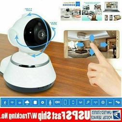 Wireless 720P Pan Tilt Network Home CCTV IP Camera IR Night