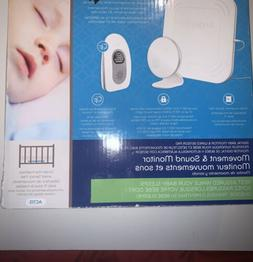 NEW  Angelcare AC115 Movement & Sound Baby Monitor w/ Room T