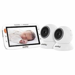 """Levana Amara 7"""" Touchscreen with 2 Fixed Cameras with 12 Hou"""