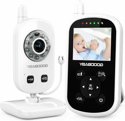 Video Baby Monitor with Camera and Audio - Auto Night Vision