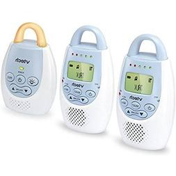 VTech BA72212BL Blue Audio Baby Monitor with up to 1,000 ft