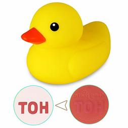 BBLIKE Baby Bath Thermometer Safety Bath Ducky Floating Toy