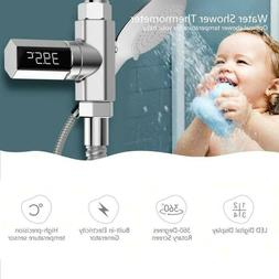 Baby LED Display Home Water Flow Faucet Shower Thermometer T