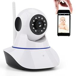 Baby Monitor, Wireless IP Security Camera 720P HD Home Indoo