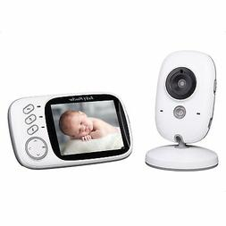 baby monitor 3 2inch lcd display video