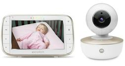 "Baby Monitor 5"" Color Screen Rechargeable Camera with Remote"