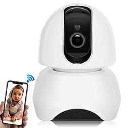 1080P Video Baby Monitor, Big SS Wireless 2.4G WiFi Security