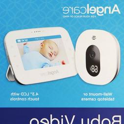 """Angelcare Baby Video Monitor, 4.3"""" Screen, Two Wide Angle Ca"""