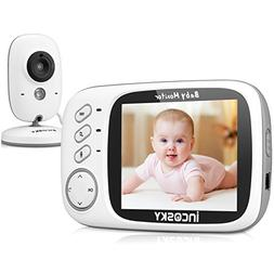 Video Baby Monitor, incoSKY Wireless Digital Camera with Nig