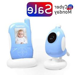Video Baby Monitor, SAFEVANT 2.4 inch Wireless Baby Monitor