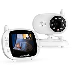 Newest Video Baby Monitor - EtekStorm Monitor With 3.5''LCD