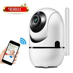 1080P Baby Monitor, JIMAMA Automatic Motion Detect WiFi Came