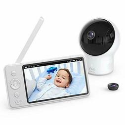 """Eufy Baby Monitor Security SpaceView Video 5"""" LCD Display,"""