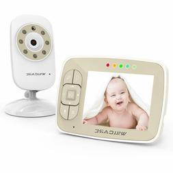 "Baby Monitor -Video Baby Monitor with 3.5"" LCD Screen, Digit"