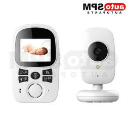 Baby Monitor Wireless 2.4GHz Digital Color LCD Camera Night