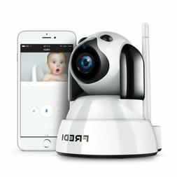 FREDI Baby Monitor Wireless 720P Security Camera WiFi Home S