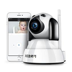 FREDI Baby Monitor Wireless 720P Security Camera WiFi Survei