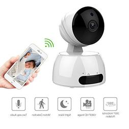 Home Security Camera Wireless, Baby/Pets/Elderly Monitor WiF
