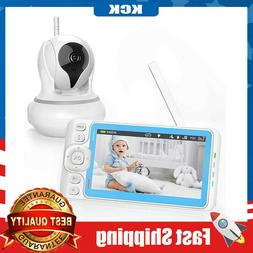 baby monitor with camera and audio 720p