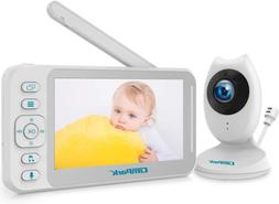 baby monitor with camera and audio video