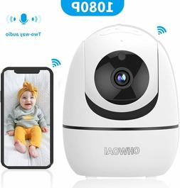 Baby Monitor with Camera and Audio Wireless Security 1080P V