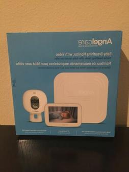 Angelcare Baby Monitor with Video and Breathing Sensor Pad N