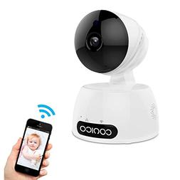 Video Baby Monitor, Conico 1080P Wireless WiFi Surveillance