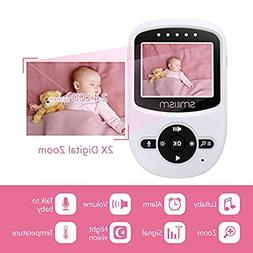 Video Baby Monitor,with Video Recording, Infared Night Visio
