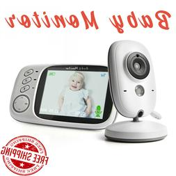 Baby Wireless Video Color Baby Monitor High Resolution Baby