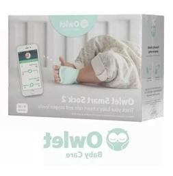 Brand New Owlet Smart Sock 2 Baby Oxygen Level And Heart Rat