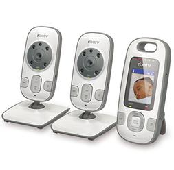 VTech BV73122GY Digital Video Baby Monitor with 2 Cameras an