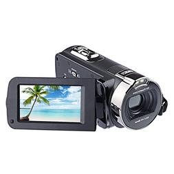 Camera Camcorders, KKSANN 24MP 16X Digital Zoom Video Camcor