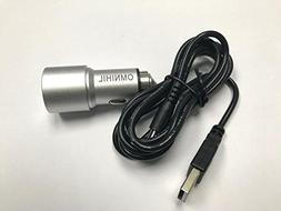 OMNIHIL 2-Port Car Charger and USB Cable for Willcare Baby M