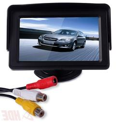 "4.3"" LCD Car Dashboard Color Monitor for Rearview Vehicle Ba"