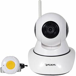 Pixpo HD Care Camera with Remote Call Button, Real Time Aler