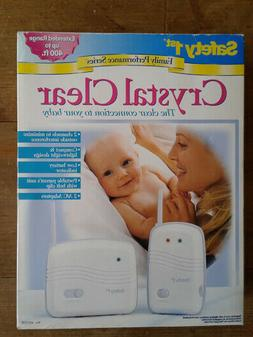 SAFETY 1ST CRYSTAL CLEAR BABY INFANT NURSERY MONITOR NEW IN