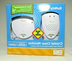 Safety-1st Crystal Clear Portable Baby Nursery Monitor Set,