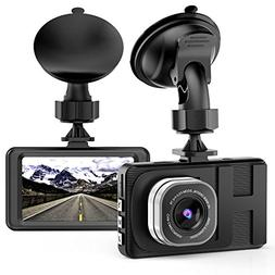 Dash Cam,VKAKA Camera for Cars with Full HD 1080P 170 Degree