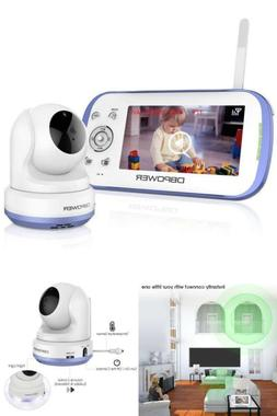 DBPOWER Digital Sound Activated Video Record Baby Monitor wi
