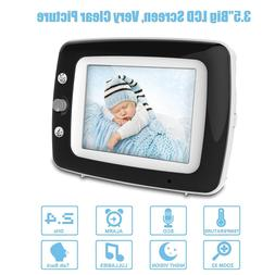 Digital Video Baby Monitor with 3.5 Inch Color Screen, Infra