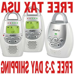 DM221-2 Audio Baby Monitor With Up To 1,000 ft Of Range, Vib