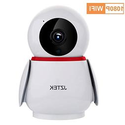 JZTEK 1080P HD Dome 355 Wide Angle Wireless WiFi Baby Monito