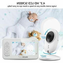 DT40 Baby Monitor Camera Video Night Vision Temperature Moni