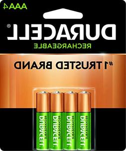 DURNLAAA4BCD - Rechargeable NiMH Batteries with Duralock Pow