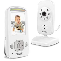 "AXVUE E600 Video Baby Monitor with 2.4"" LCD and Night Vision"