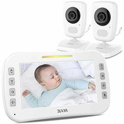 e632 video baby monitor with two cameras