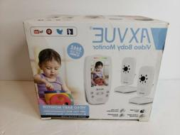 """AXVUE E662 Video Baby Monitor with Two Cameras and 2.8"""" LC"""