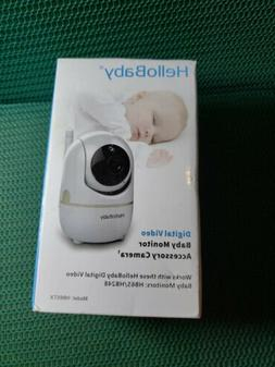 HelloBaby Extra Camera for Video Baby Monitor, Baby