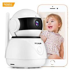 VALKLYR 1080P FHD WiFi IP Camera Wireless 360 Degree, IP Sec