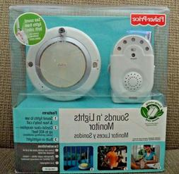 FISHER PRICE SOUND'S N LIGHT MONITOR WITH ENERGY SAVING CORD